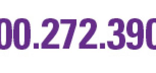 800.272.3900 24/7 Helpline