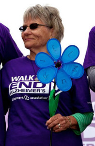 Bobbie Johnson at Walk to End Alzheimer's