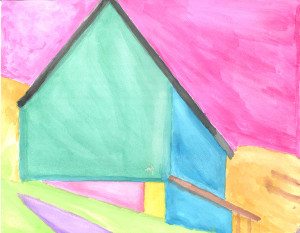 Geometric Barn by Harry