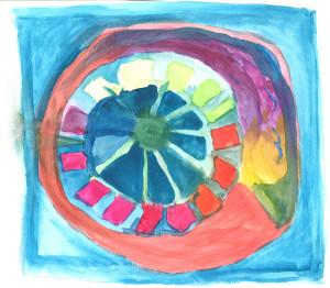 Radiant Mandala by Jerry