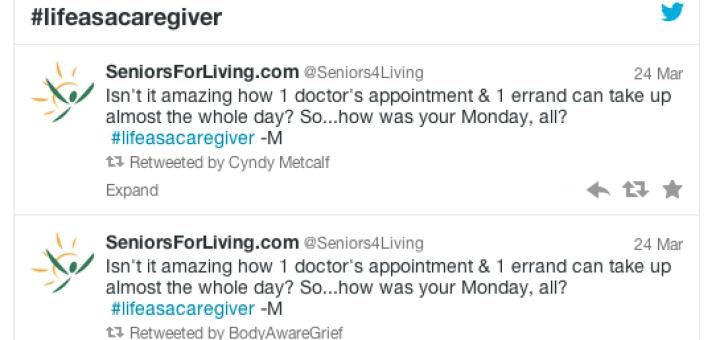 life as a caregiver tweetathon