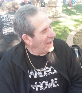 Handsome Howe himself, my grandpa, Clifford in 2012 at Walk to End Alzheimer's