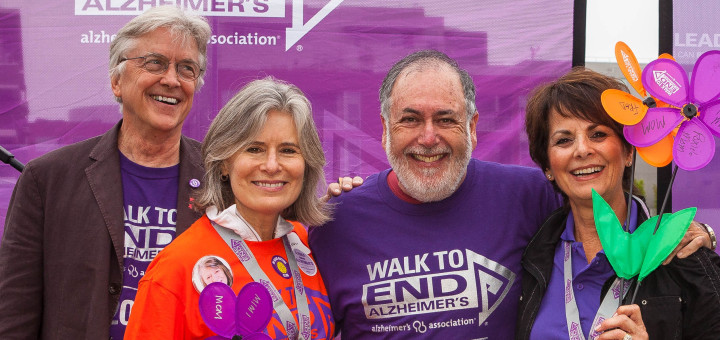 Board Members at Walk to End Alzheimer's