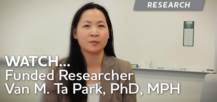 Researcher Van Ta Park