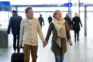 Stress free traveling for someone with dementia
