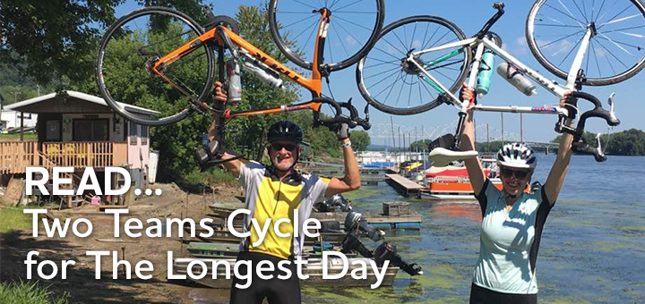 Two Teams cycle for The Longest Day