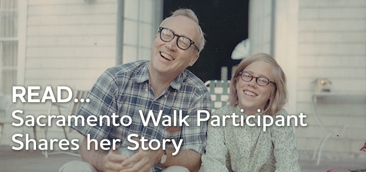 Sacramento Walk participant shares her story