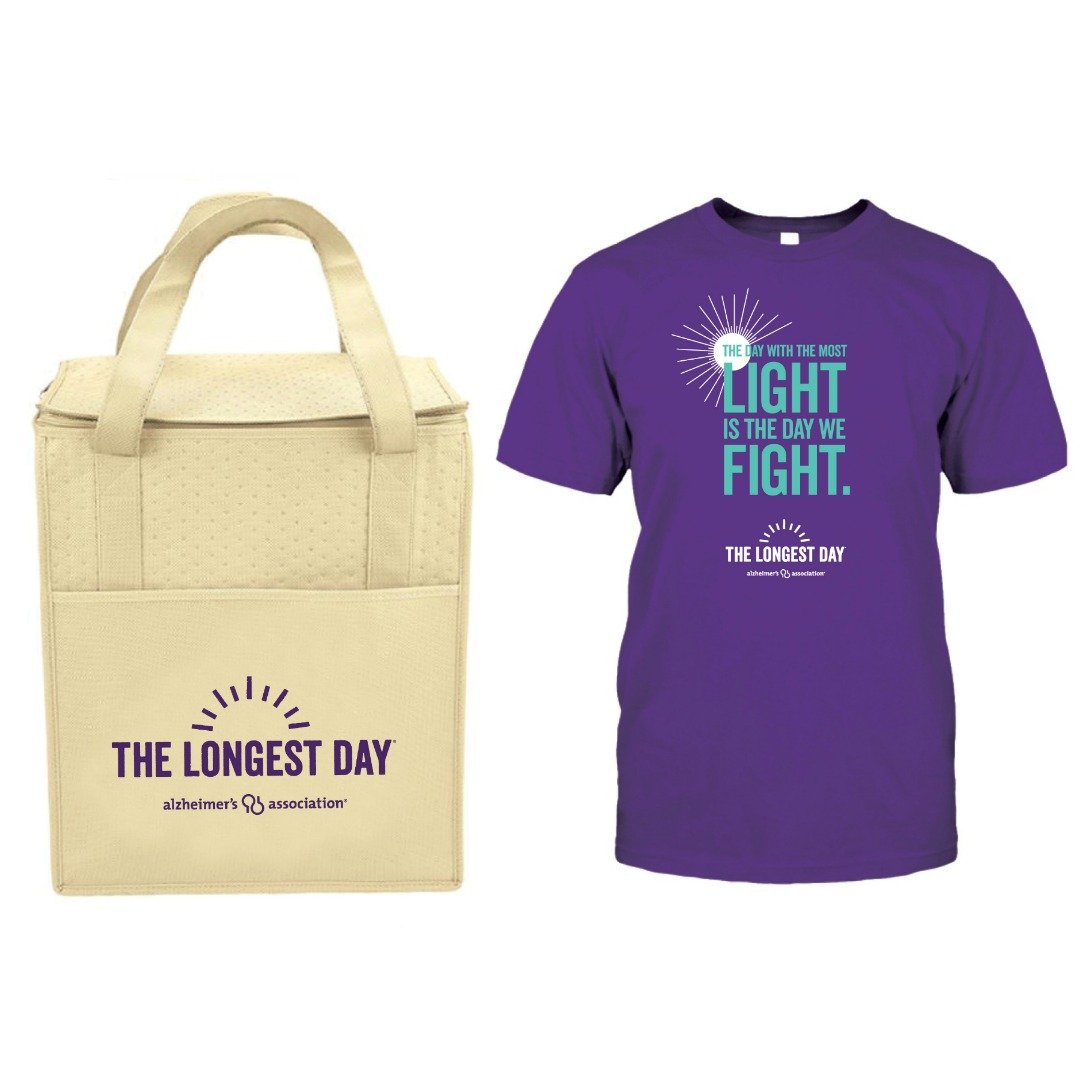 Stand up to the darkness of Alzheimer's on The Longest Day