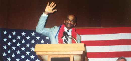 Howard Colston waves as he retires from career as Davis postal worker