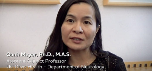 Dr. Oanh Meyer Alzheimer's Association grant recipient