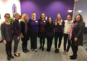 Alzheimer's Association staff at the Reno, NV office