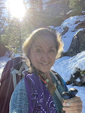 Deb Hikes for her dad Harvey who died with Alzheimer's