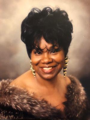 Glamor shot of Willie Mae who died of Alzheimer's