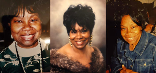 Photo collage of Willie Mae who died of Alzheimer's