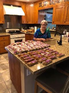 Margo's friend's baked goods