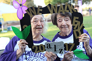 Summerfield residents at the Yuba City Walk to End Alzheimer's