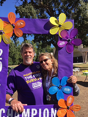 Sheri and Blair are fundraising Champions at the Walk to End Alzheimer's