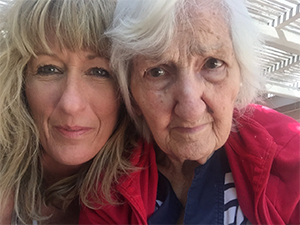 Karen and her mom living with Alzheimer's
