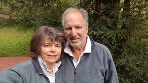 Elenita and Dennis who has Alzheimer's