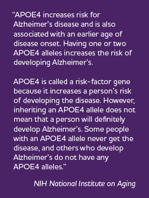 Information on APOE4