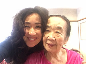 Masako and her mother who is living with Alzheimer's