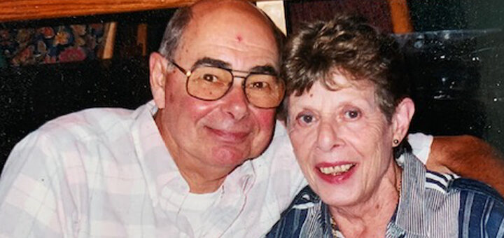 Steven and wife Betty who is living with dementia