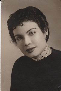 Maria's mother who died from Alzheimer's as a young woman