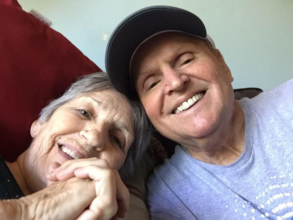 Tom, with wife Linda