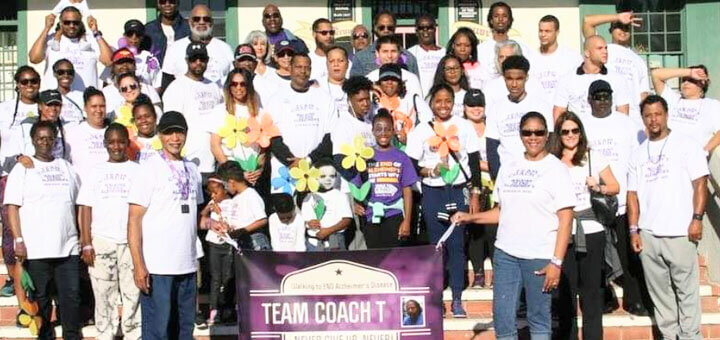 Team Coach T for the Stockton Walk to End Alzheimer's