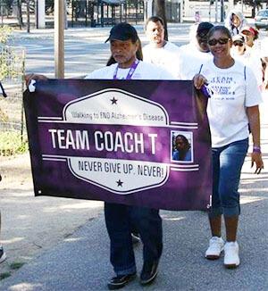 Team Coach T at the Monterey Walk to End Alzheimer's