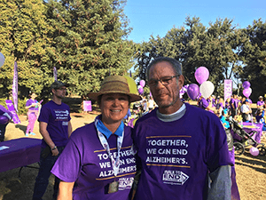 Ron's Children at the Merced Walk to End Alzheimer's