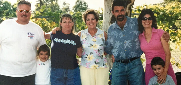 Maria who had Alzheimer's and her family