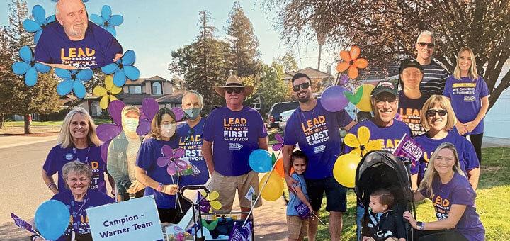 Campion - Warner Walk to End Alzheimer's team